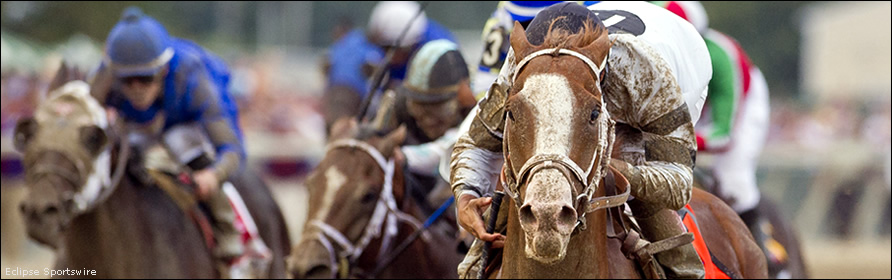 Will Take Charge winning the Pennsylvania Derby